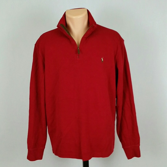 Polo by Ralph Lauren Other - Polo Ralph Lauren Men's Zip Up Sweater Size Large